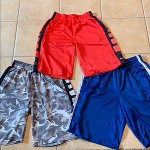 3 pairs of Nike elite shorts
